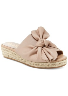 Nanette by Nanette Lepore Dominik Knotted Wedge Flats Women's Shoes
