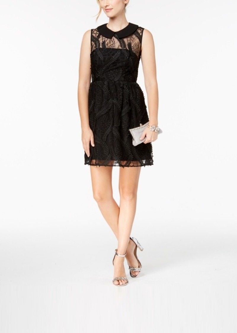 Nanette by Nanette Lepore Embroidered Collar Dress