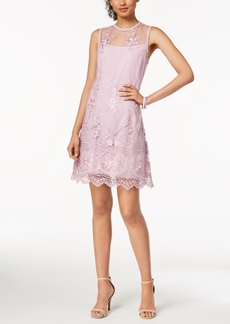Nanette by Nanette Lepore Embroidered Mesh Dress