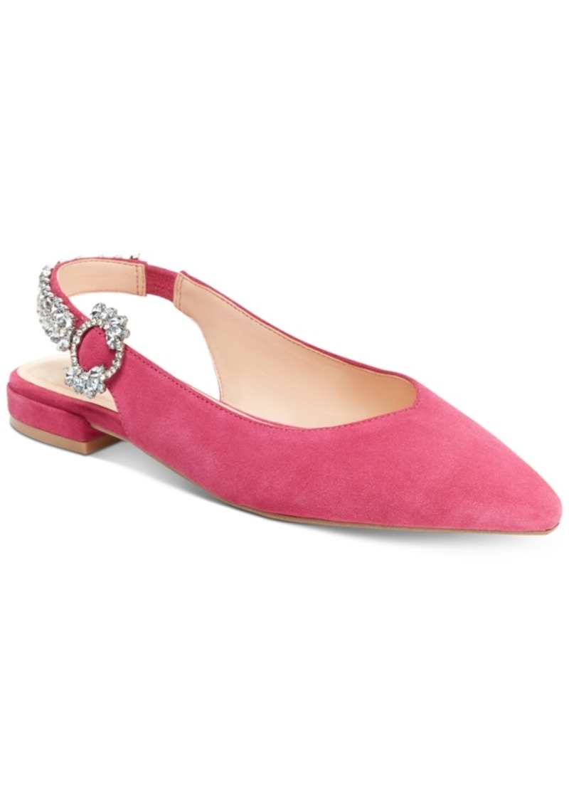 Nanette by Nanette Lepore Felicity Jewel Embellished Flats, Created for Macy's Women's Shoes