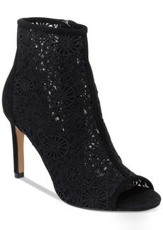Nanette by Nanette Lepore Heidi Crochet Peep-Toe Booties Women's Shoes