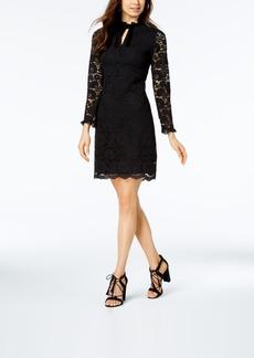 Nanette by Nanette Lepore Keyhole Lace Sheath Dress, Created for Macy's