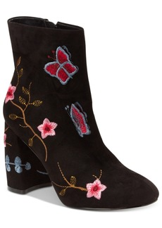 Nanette by Nanette Lepore Lilly Embroidered Booties Women's Shoes