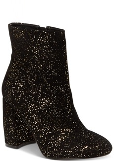 Nanette by Nanette Lepore Lilly Sparkle Block-Heel Booties Women's Shoes