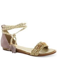 Nanette by Nanette Lepore Magnolia Jeweled Lace-Up Sandals, Only at Macy's Women's Shoes