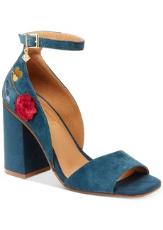 Nanette by Nanette Lepore Martina Embroidered Dress Sandals Women's Shoes