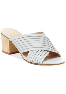 Nanette by Nanette Lepore Ray Crossband Block-Heel Mules Women's Shoes