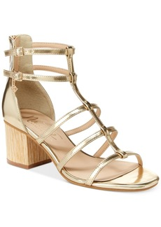 Nanette by Nanette Lepore Rebecca Strappy Block Heel Sandals Women's Shoes
