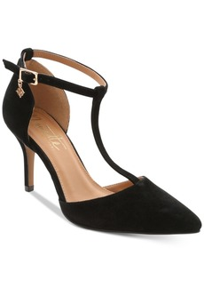Nanette by Nanette Lepore Sabrina Pointed-Toe T-Strap Pumps Women's Shoes