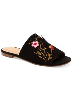 Nanette by Nanette Lepore Valentina Embroidery Flat Mules Women's Shoes