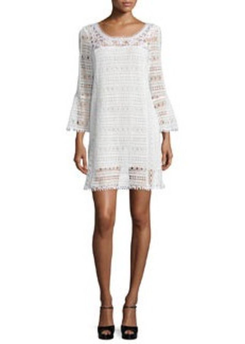 Nanette Lepore Long-Sleeve Lace Dress