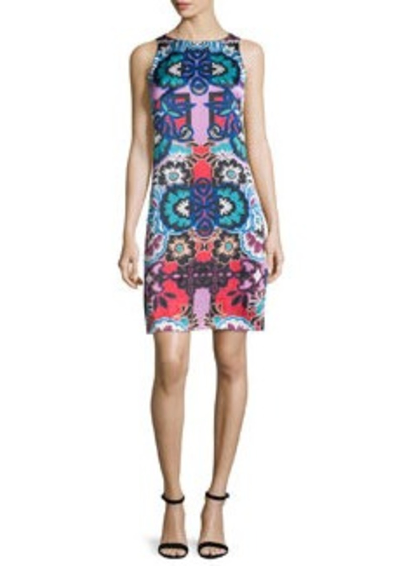 Nanette Lepore Sleeveless Floral-Print Sheath Dress