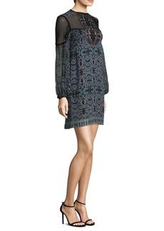 Nanette Lepore Adeline Silk Shift Dress