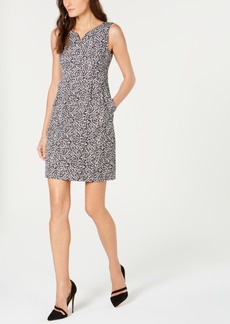 Nanette Lepore Animal-Print Sheath Dress, Created for Macy's