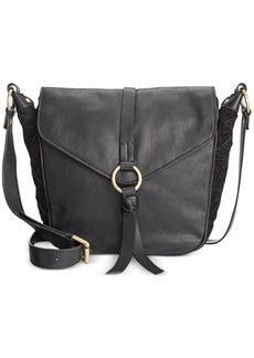 Nanette Lepore Flap Crossbody Saddle Bag
