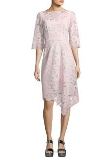 Nanette Lepore Bailamo Lace Asymmetric Dress