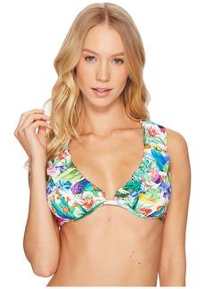 Nanette Lepore Cactus Heartbreaker Underwire Bikini Top