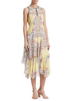 Nanette Lepore Canary Silk Dress