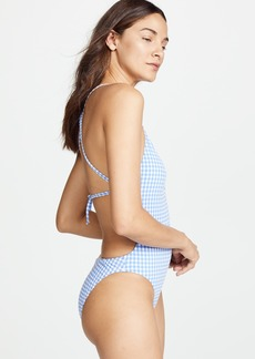 Nanette Lepore Capri Gingham Goddess One Piece