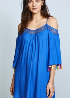Nanette Lepore Cha Cha Off the Shoulder Cover Up Dress
