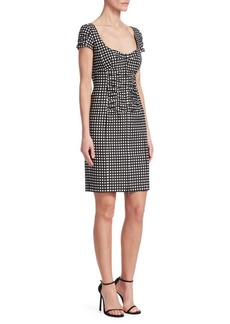 Nanette Lepore Check Me Out Gingham Dress
