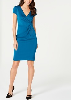 Nanette Lepore City Ruched Sheath Dress, Created for Macy's