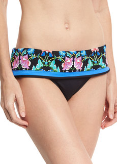 Nanette Lepore Damask Floral Dreamer Swim Bikini Bottom