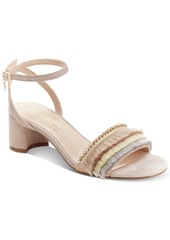 Nanette Lepore Darla Fringed Dress Sandals Women's Shoes