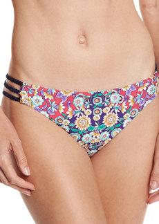Nanette Lepore Desert Diamond Charmer Strappy-Side Swim Bottom