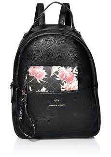 Nanette Lepore Dome Mini Bag with Printed Pouch Black/Floral
