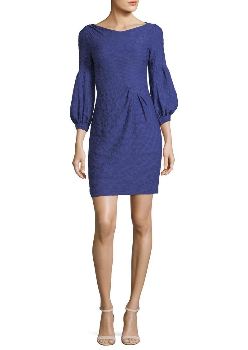 Nanette Lepore Elizabeth Blouson-Sleeve Sheath Cocktail Dress