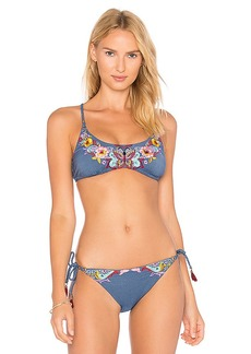 Nanette Lepore Enchantress Top in Blue. - size M (also in S,XS)