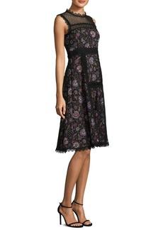 Nanette Lepore Eve Floral Lace Dress