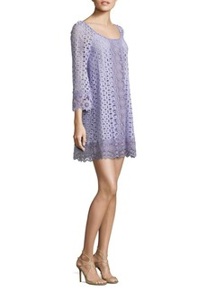Nanette Lepore Eye Candy Cotton Shift Dress