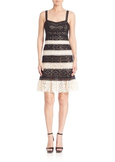 Nanette Lepore Feel the Music Lace Dress