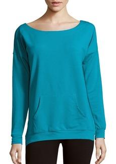 Nanette Lepore Femme Cotton-Blend Sweatshirt
