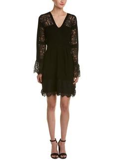 Nanette Lepore Firenze Wool A-Line Dress