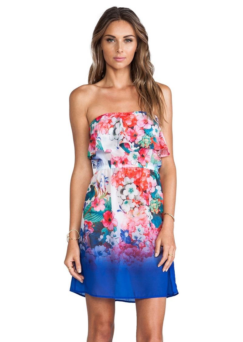 Nanette Lepore Fleur de la Mer Removable Strap Dress