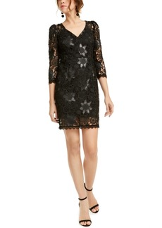 Nanette Lepore Floral Lace Dress