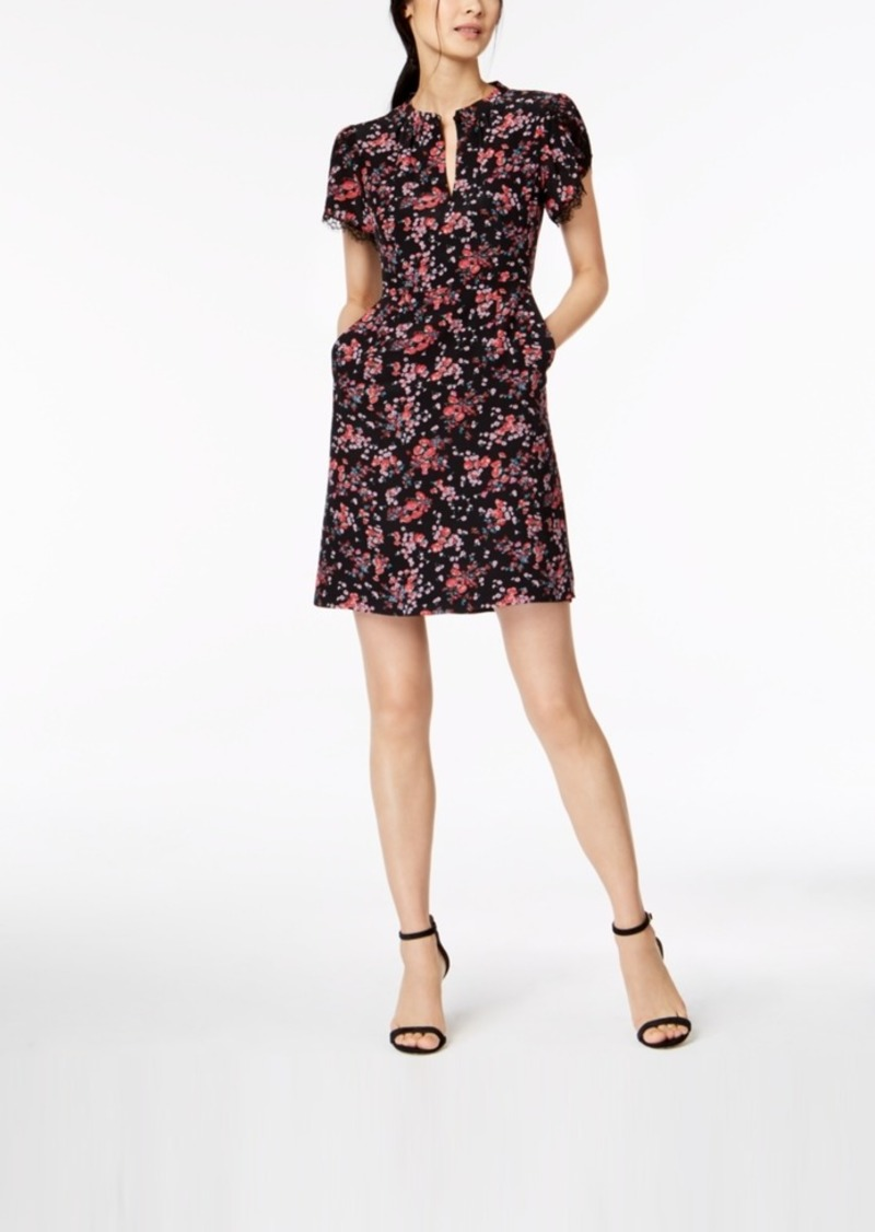 Nanette Lepore Floral-Print Shift Dress, Created for Macy's