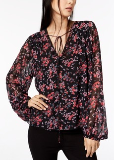 Nanette Lepore Floral-Print Top, Created for Macy's