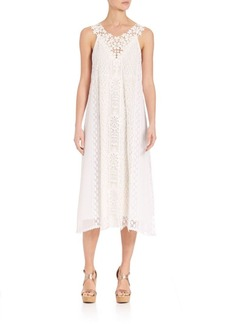 Nanette Lepore Floral Sleeveless Lace Dress