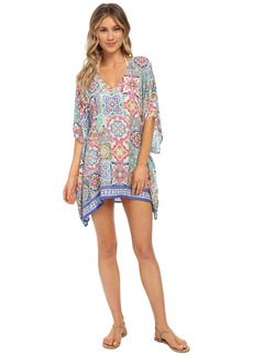 Nanette Lepore Greek Tiles Caftan Cover-Up