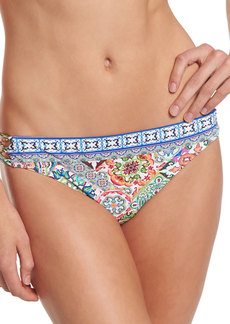 Nanette Lepore Greek Tiles Charmer Printed Swim Bottom