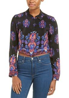 Nanette Lepore Hard To Thrill Silk Shirt