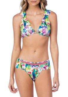 Nanette Lepore Heartbreaker Bikini Top
