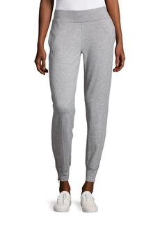 Nanette Lepore Heathered Jogger Pants