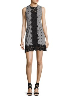 Nanette Lepore Highline Sleeveless Gingham Mini Dress