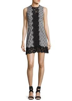 Nanette Lepore Highline Sleeveless Gingham Mini Dress