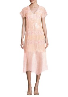 Nanette Lepore Jeweled Dress